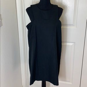 NWT Amour Vert Katya Silk Black Dress Large